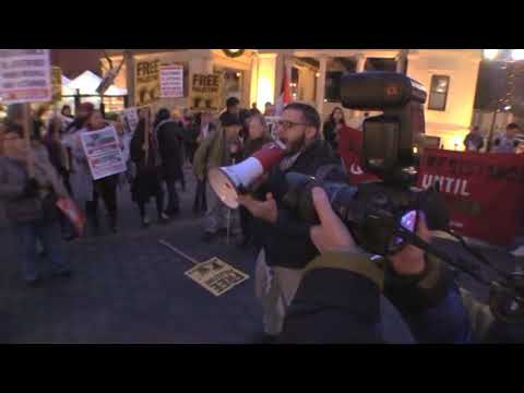 Free Ahed Tamimi Rally, NYC 12 22 2017