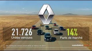Les voitures préférées des marocains en 2017