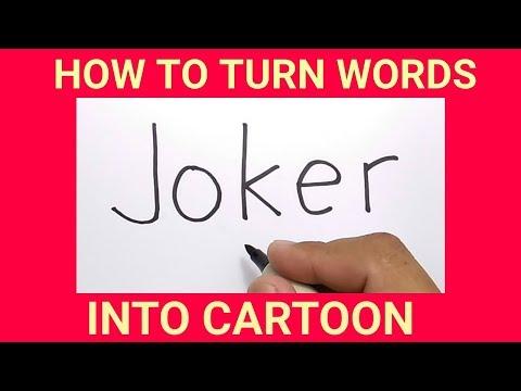 Gambar Grafiti Kartun Joker