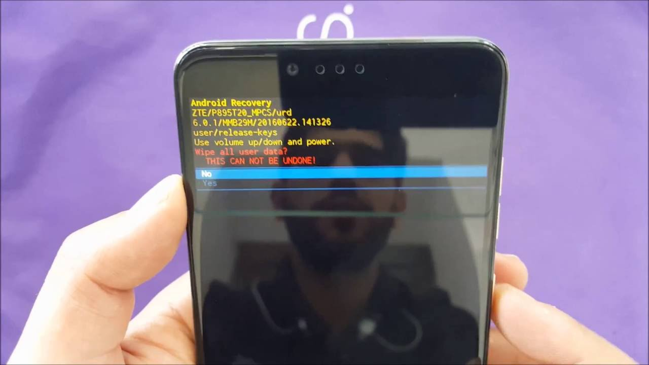 ZTE ZMax Pro How To hard Reset