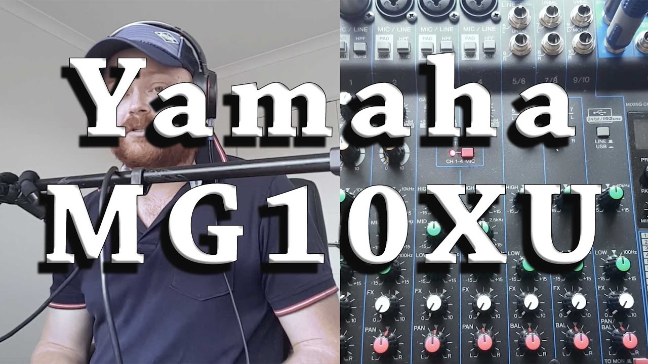Yamaha mg10xu review impressions features youtube for Yamaha mg10xu review
