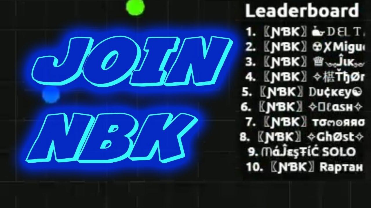 JOIN 〖ƝƁƘ〗 CLAN // ƝƁƘ Agario Recruitment challenge #NBKRC Agar.io