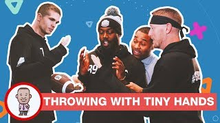 THROWING WITH TINY HANDS ON CABBIE PRESENTS