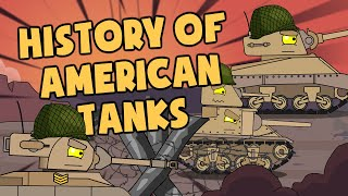 History of American tanks - Cartoons about tanks