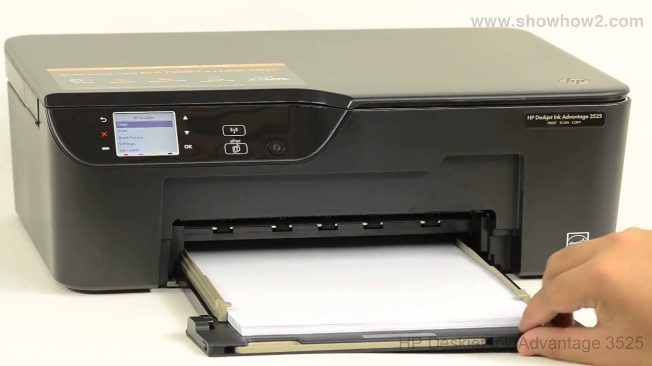 hp deskjet f4580 ink cartridge change how to