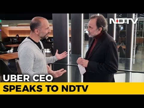Uber CEO Dara Khosrowshahi Speaks To NDTV's Prannoy Roy