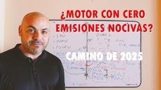 ¿Motor térmico con cero emisiones