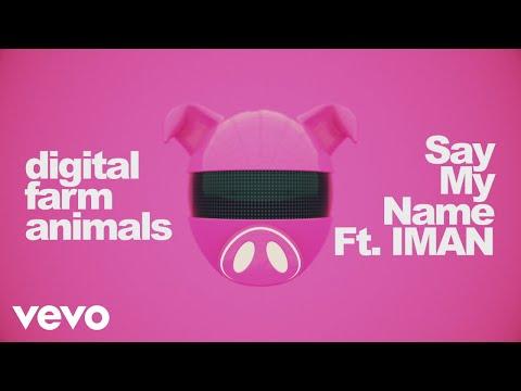 Digital Farm Animals - Say My Name (Lyric Video) ft. IMAN