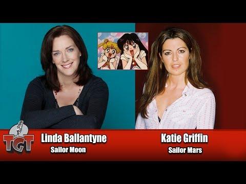 Linda Ballantyne & Katie Griffin voice actors Sailor Moon  Windsor ComiCon 2016