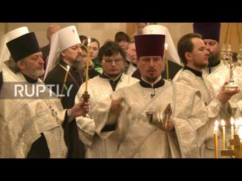 Russia: Patriarch Kirill leads special service for victims of St. Petersburg metro bombing