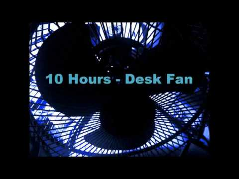 10 Hours - Relaxing Hum of a Small Desk fan sound for sleep