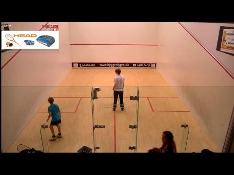 HEAD Danish Junior Open 2017 Sunday- Court 9 Cam