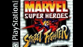 Marvel Super Heroes vs. Street Fighter (PS1) - Akuma/Wolverine