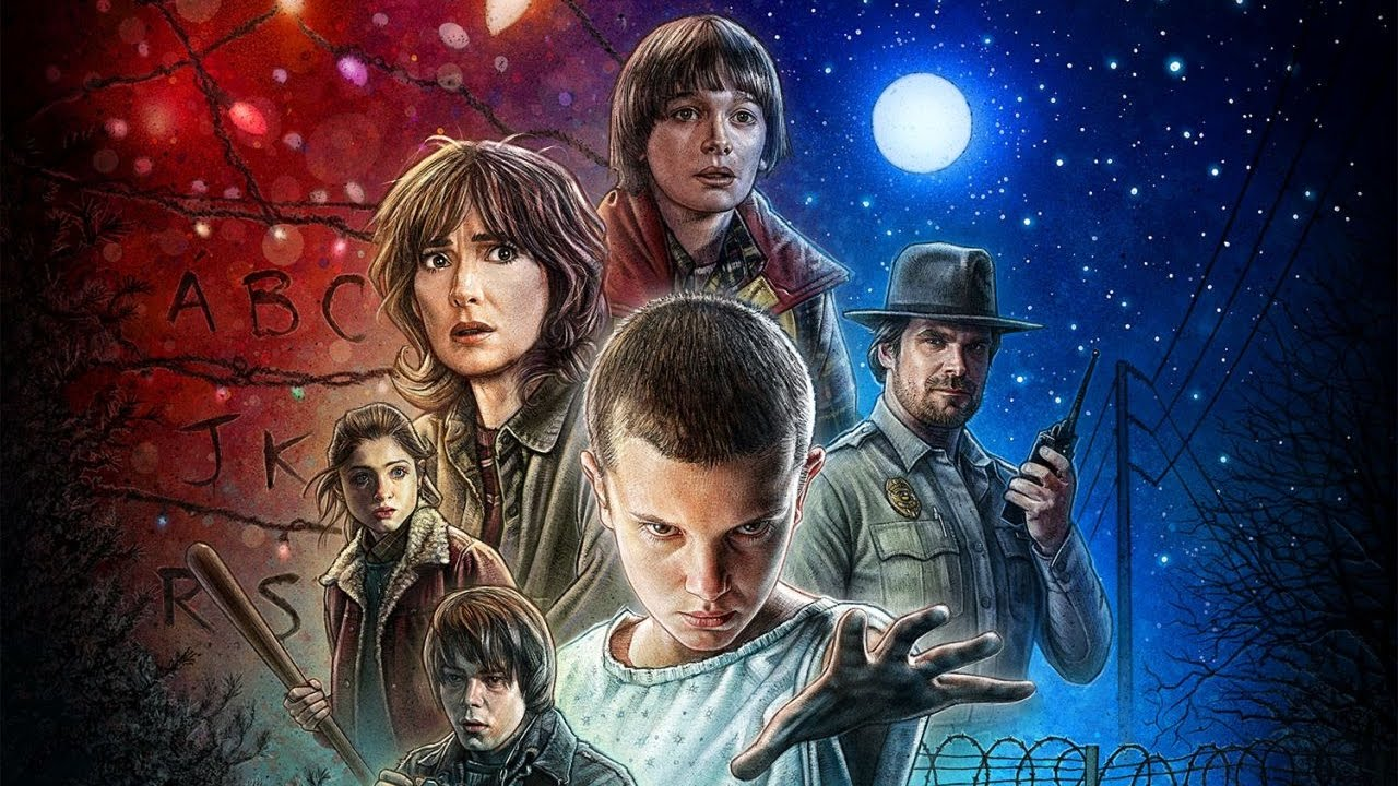 Stranger Things (TV Series 2016– ) 怪奇物语 Maxresdefault