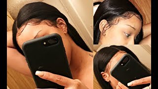 Baixar How To Apply a Lace Wig, Cutting The Lace, Laying Baby Hair Ect. | Ft. SuperNova Brazilian Straight