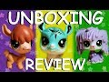 Brand New Littlest Pet Shops!!! (Unboxing & Review)