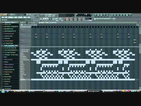 Lex Luger secret formula for making instrumentals remake in Fl Studio 9