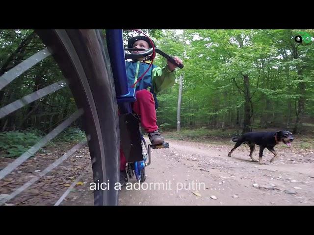 Aventuri pe bicicleta - Dusi de acasa