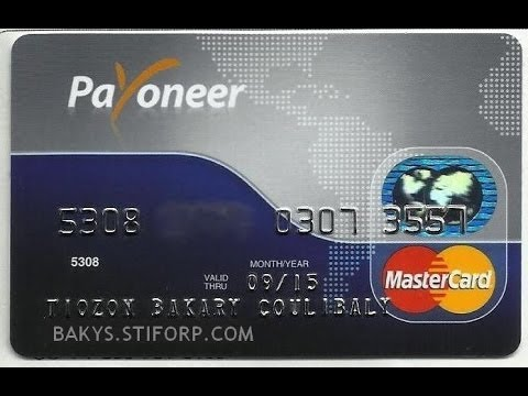 Prepaid Credit Cards >> How To Get Free Payoneer Prepaid MasterCard [FREE 25$ GIFT] - YouTube