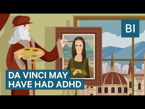 ADHD could have been the key to Leonardo da Vinci's genius