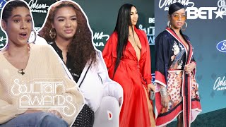 THE DRIP GANG RATE QUEEN NAIJA, H.E.R & MORE ON THEIR SOUL TRAIN AWARDS OUTFITS   BET X FRESH EMPIRE