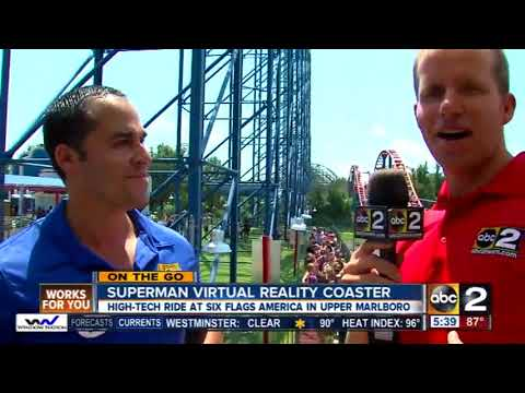On the Go: Wyatt Everhart at Six Flags