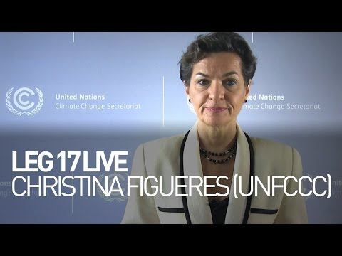 Live chat between Christiana Figueres former Executive Secretary (UNFCCC) & Bertrand Piccard