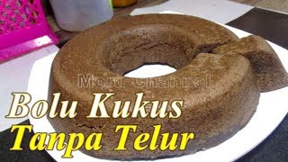 Steamed Bolu without Egg without Mixer - YouTube