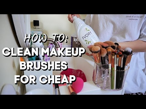 HOW I CLEAN MY MAKEUP BRUSHES + COOK WITH ME! | JuicyJas