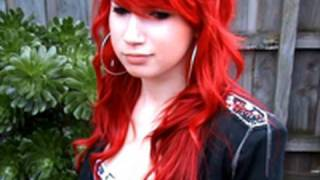 One of Louna Maroun's most viewed videos: Red Haired Emo Vampire - Louna Loving Life