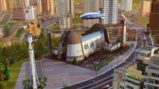 SimCity: Description du Kit Dirigeables