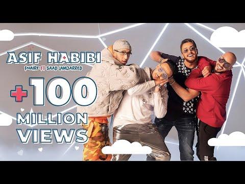 Fnare Ft. Saad Lamjarred - ASIF HABIBI (Music Video) (    -   (