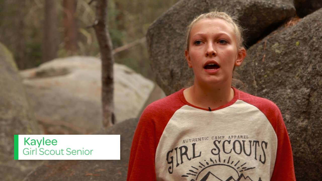 What happens when girls get outdoors? - YouTube