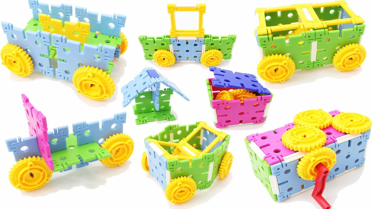 Best Stem Toys For Kids And Toddlers : Building blocks toys for children klikko with gears