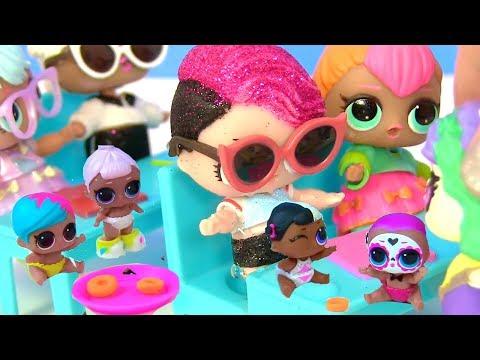 КУКЛЫ ЛОЛ СЮРПРИЗ МУЛЬТИК! Сладкие Пончики для новеньких учениц LOL Surprise Dolls & Shopkins