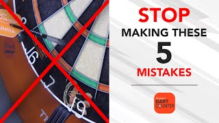 5 MOST COMMON MISṪAKES MADE BY DARTS PLAYERS! 🎯🚫