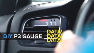 How To Install A P3 Multi Gauge For Your MQB VW/Audi