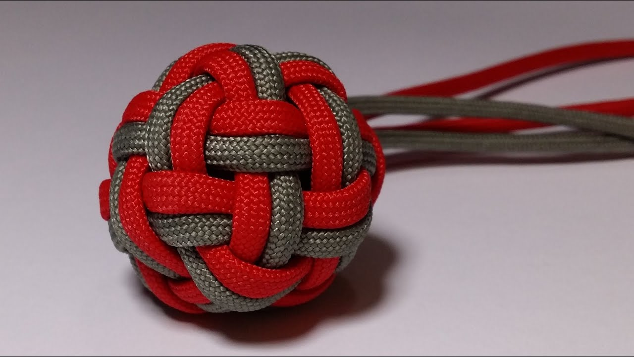 how to make a double globe knot by paracordknots