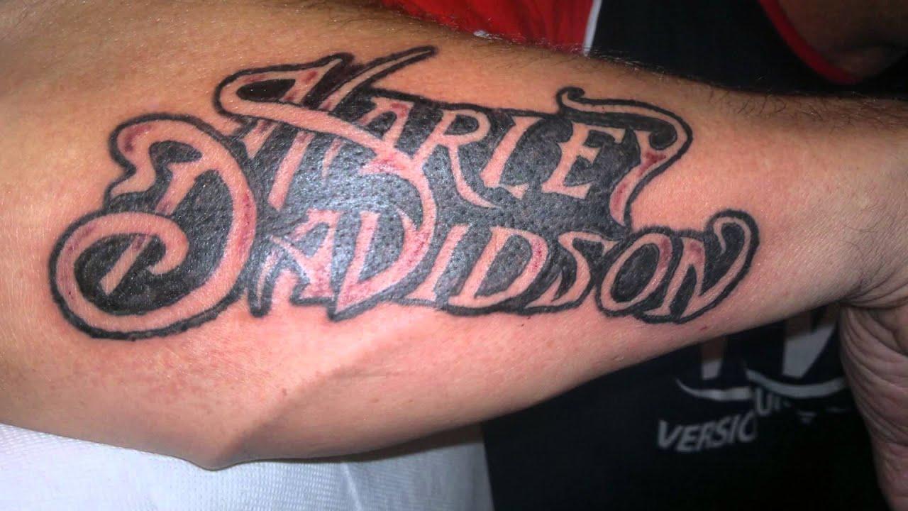 Harley Davidson Tattoo  YouTube