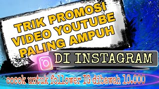 Cara Promosi Video Youtube Di Instagram Youtube