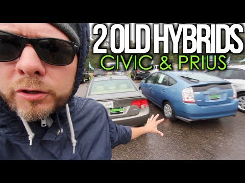 Would You Buy This Car? ( 2 OLD HYBRIDS ) Toyota Prius & Honda Civic | S1 - E2