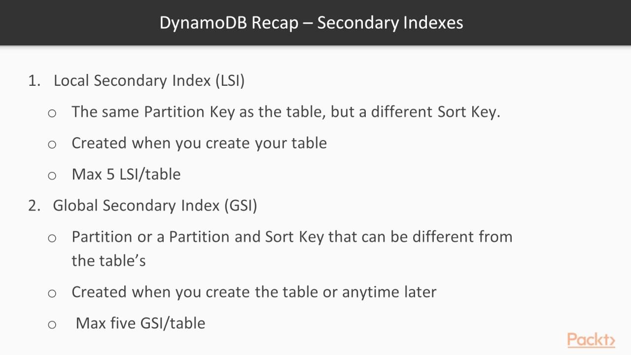 AWS Certified Developer-Associate-PrepCourse: DynamoDB Recap–Table ...