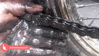 बाइक की चेन कैसे साफ करें | How to clean bike chains