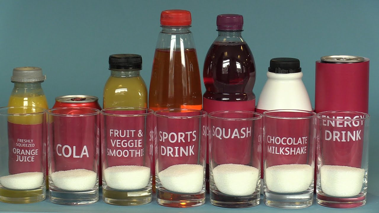 Do you know how much sugar is in your drink? - YouTube