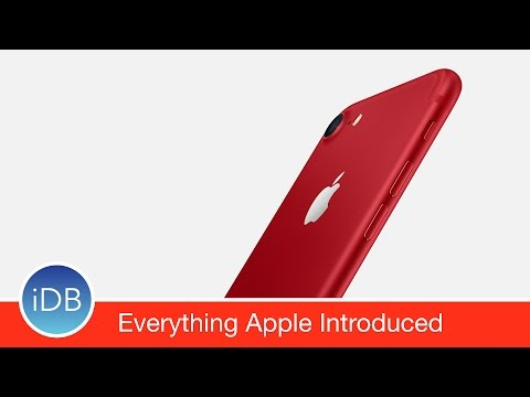 Here is Everything Apple Introduced Today (March 21, 2017)