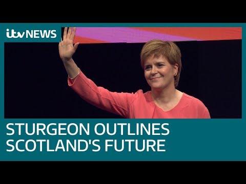 Nicola Sturgeon gives keynote speech to SNP Conference | ITV News