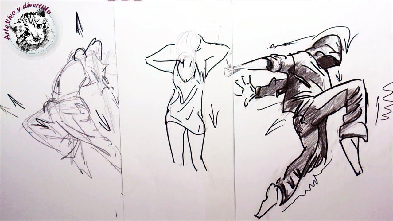 Cómo Dibujar Personas Paso a Paso: Como dibujar la ropa en
