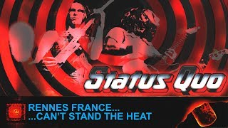 Status Quo; If You Can't Stand The Heat Tour; Rennes France, 16th February 1979