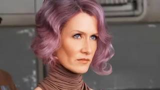 Laura Dern , American actress plays Vice Admiral Amilyn Holdo in Star Wars: The Last Jedi