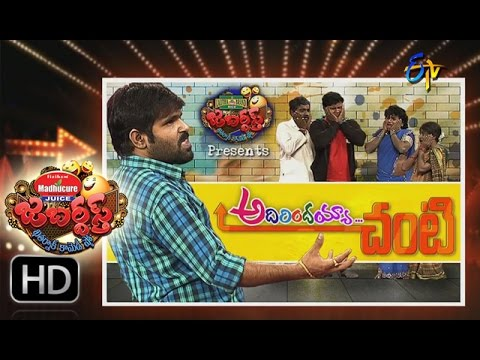Jabardasth - 10th December 2015- జబర్దస్త్ – Full Episode